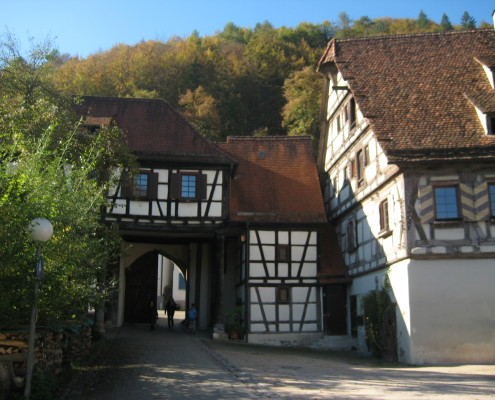 Klostereingang Blaubeuren